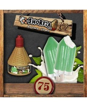 King Liquid - N75 LA SMORFIA XXL 30 ml gelato al latte e menta