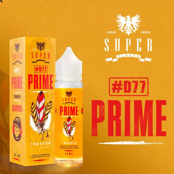 #D77  Prime 20 ml Super Flavor liquido sigarette elettroniche di Danielino 77