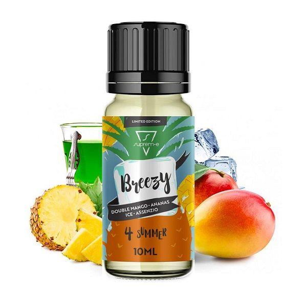 Breezy Supreme : doppio mango unito ad assenzio ed una sensazione ghiacciata. Aroma concentrato 10 ml
