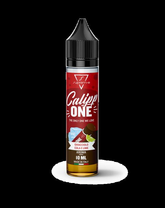 Calippone Supreme mini shot 10 ml (10+10) e' l'iconico ghiacciolo alla cola e lime ora anche in liquido per sigarette elettroniche!