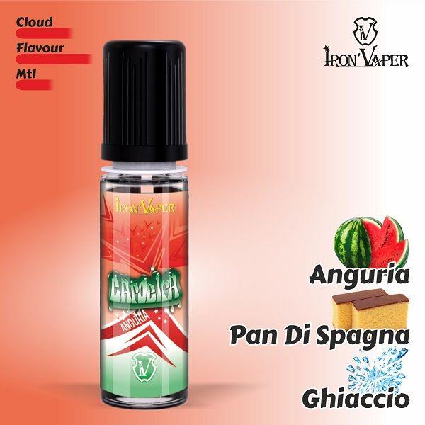 Capoeira Ice Anguria Edition 5 ml Mini shot . Un mix di anguria , ghiaccio e pan di spagna!