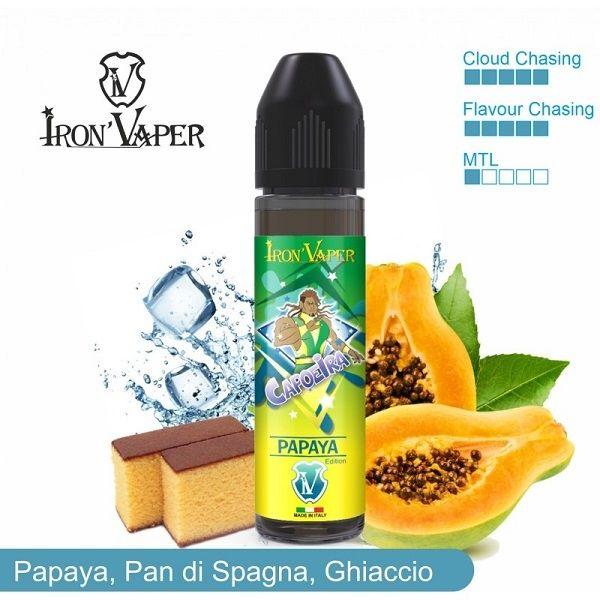 Irona Vaper Papaya e pan di spagna 20 ml aroma scomposto ghiacciato