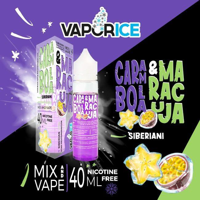 Carambola e Maracuja Vaporice 40 ml Mix series