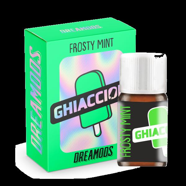 Frosty Mint Dreamods 10 ml aroma concentrato per sigarette elettroniche ideato da Dreamods per la tua estate 2021. Un fresco ghiacciolo alla menta che ti riportera' con la mente a quando eri bambino !