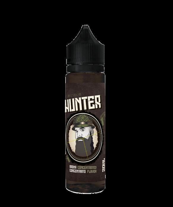 Hunter Enjoy svapo 20 ml liquido scomposto Hunter e' la miscela di tabacchi che accompagnano ed esaltano il caramello salato , per dare origine ad un aroma piacevole al palato per un esperienza all day.