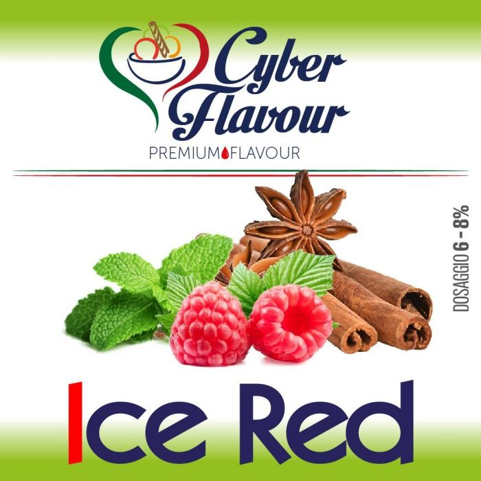 Cyber Flavor - Ice Red  - 10 ml Aroma concentrato