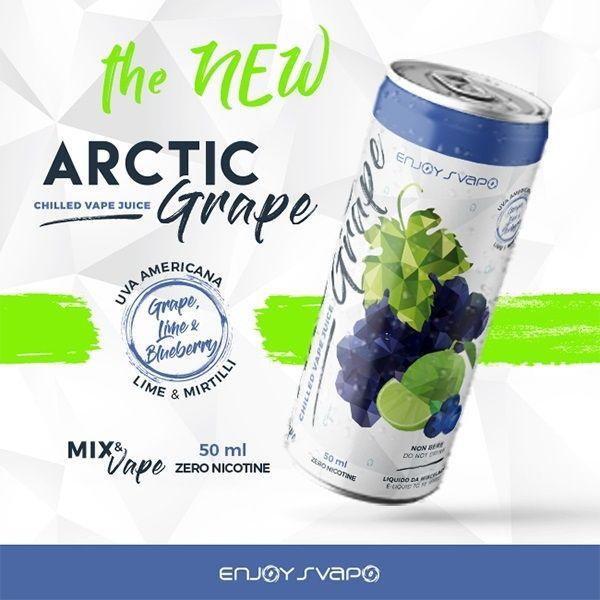 Enjoy Svapo Artic Grape Lattina 50 ml