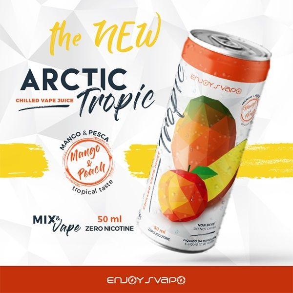 Enjoy Svapo Artic Tropic Lattina 50 ml