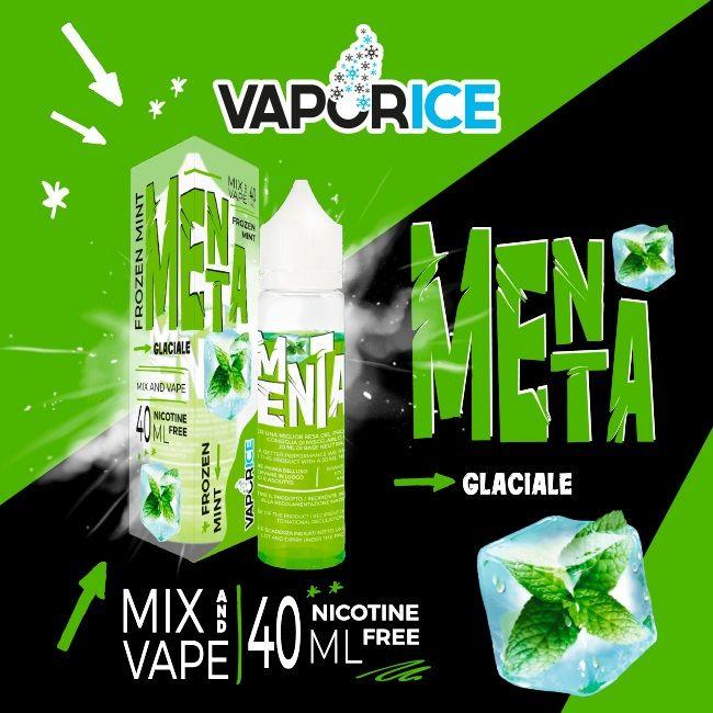 MentaVaporice ! illiquido per sigarette elettroniche mentolatoin formato scomposto al ghiacciolo alla menta! il liquido svapo ideale per la tua calda estate!