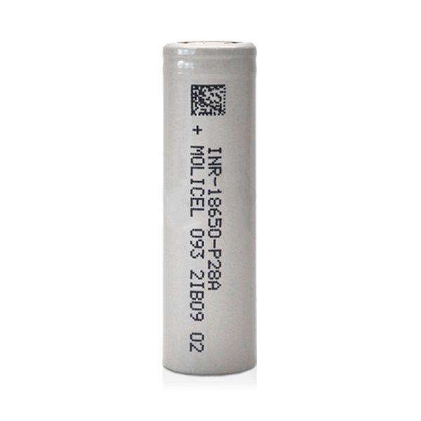 Molicel 18650 batterie per box mod e sigarette elettroniche.