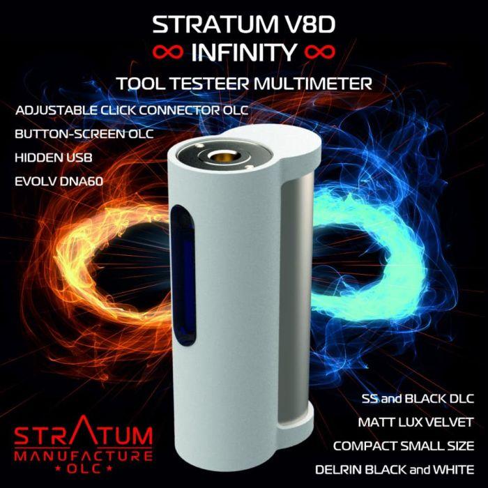 Stratum Infinity V8D Full Black LE