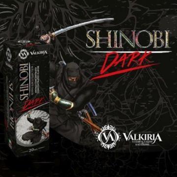 Valkiria Shinobi Dark 50 ml Mix Series liquido per sigarette elettroniche al tabacco Latakia , papaya e fico d'india.