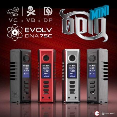Odin Mini DNA  Evolv 75C box mod