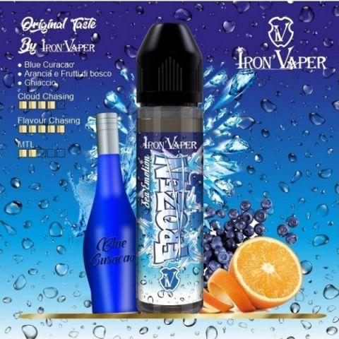 Iron Vaper Sea Blu Frozen sigarette elettroniche liquido Iron Vaper